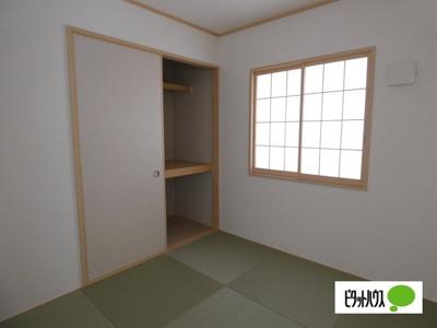 【3号棟】和室 リビングとつながる癒しの空間、和室☆彡