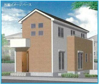 同社同仕様施工例です。新京成線「滝不動」駅徒歩13分の全1棟の新築一戸建てです。