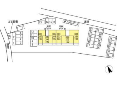 【区画図】ダイワスイートⅡ