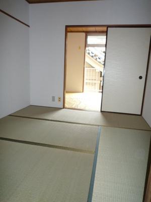 【寝室】白河マンション