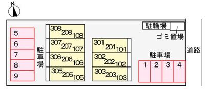 【区画図】嵐山パレス