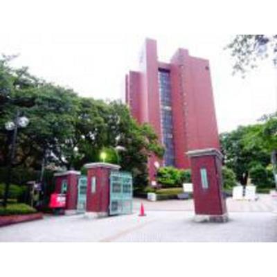 図書館「日本大学文理学部図書館まで1178m」