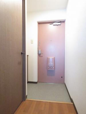 【玄関】ドミ幌西2