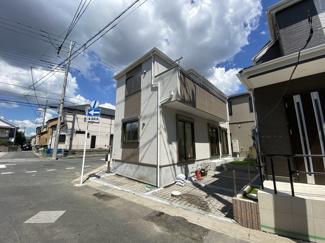 京成本線「鬼越」駅徒歩12分の全2棟の新築一戸建てです。