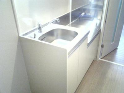 【キッチン】ポリフォニー 独立洗面台 浴室乾燥機 オートロック