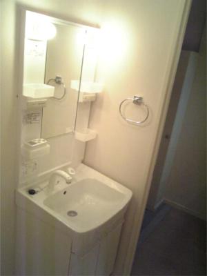 【独立洗面台】ポリフォニー 独立洗面台 浴室乾燥機 オートロック
