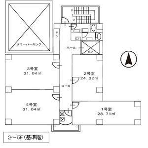 東大阪第一ビル 間取り