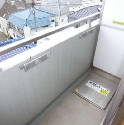 【バルコニー】COZYCOURT三軒茶屋TOKYO 駅近 浴室乾燥機 独立洗面台 宅配BOX