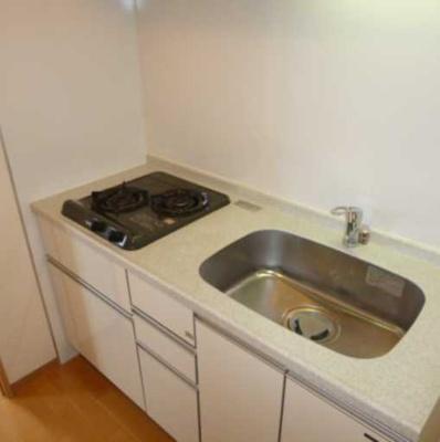 【キッチン】COZYCOURT三軒茶屋TOKYO 駅近 浴室乾燥機 独立洗面台 宅配BOX
