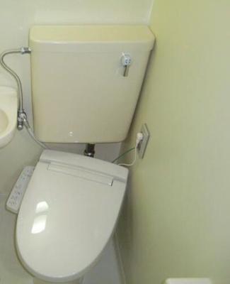 バストイレは同室です