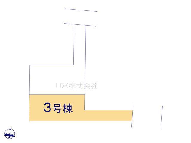 【区画図】新築戸建/ふじみ野市仲2丁目(全3棟)