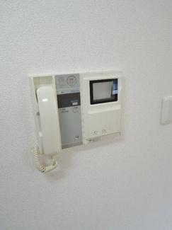 オートロック・テレビモニター式インターホン