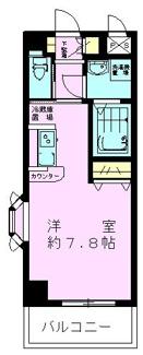 洋室7.8帖