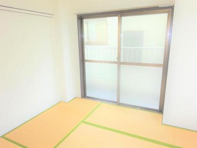 広々和室6帖のお部屋