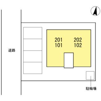 【区画図】アムールM