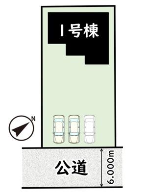 【区画図】ハートフルタウンつくば市牧園Ⅱ
