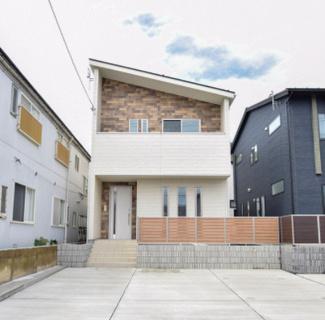 ★令和3年4月完成★2階にリビングルームの広々綺麗な新築物件です(^_-)-☆