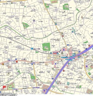【地図】トップ三軒茶屋第4