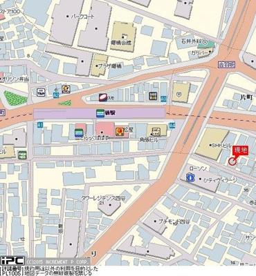 【地図】OLIO四谷