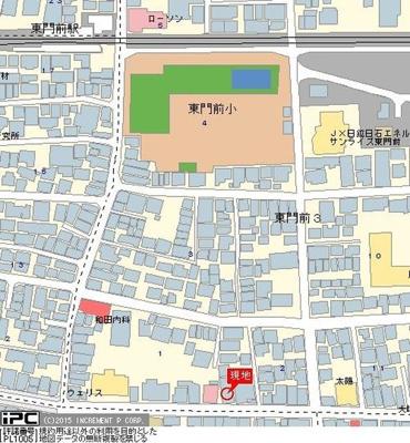 【地図】アイ・シュライン川崎大師東