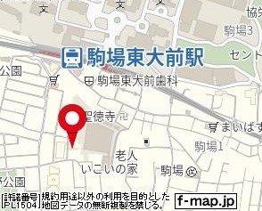 【地図】カルタス21駒場東大前