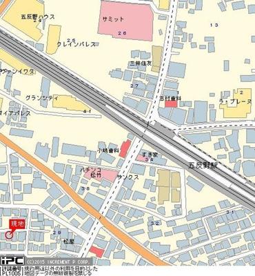 【地図】アーバンプレイス五反野