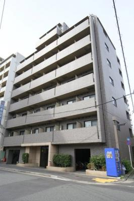 【外観】ルーブル白金高輪弐番館