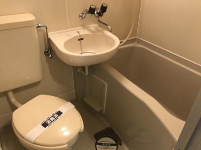 【浴室】フラット南町