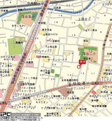 【地図】ガーデンハイツ一号館