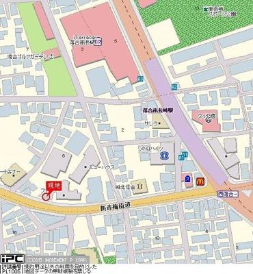 【地図】スカイコート新宿落合南長崎駅前