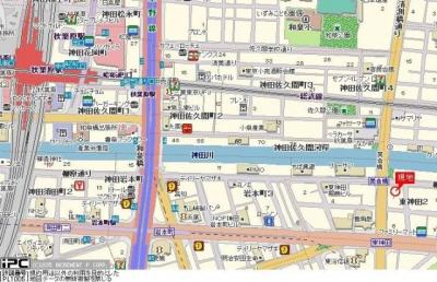 【地図】ダイアパレス東神田