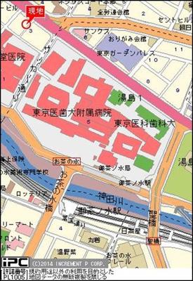 【地図】藤和シティコープ御茶ノ水吉田ビル