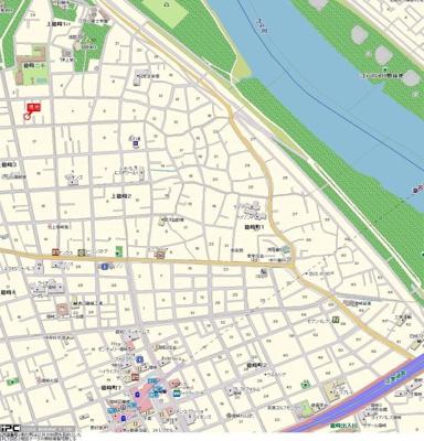 【地図】ベルモア