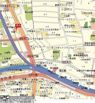 【地図】ルーブル文京音羽