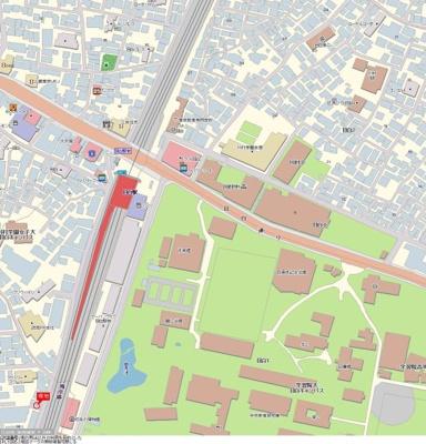 【地図】ADX目白