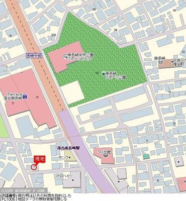 【地図】ジェイパーク西落合