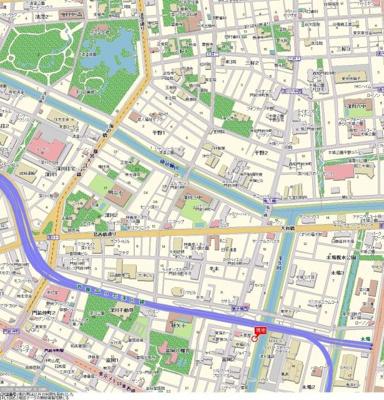 【地図】サンテミリオン門前仲町