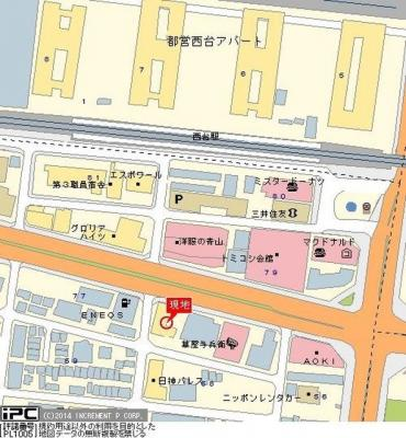 【地図】日神パレス西台第二