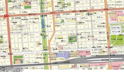 【地図】ダイアパレス錦糸町第5