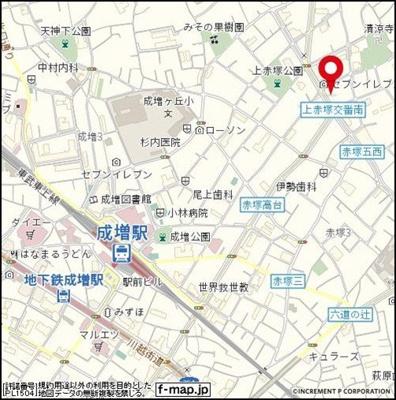 【地図】エミグラント成増