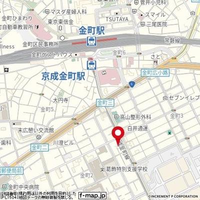 【地図】MELDIA金町