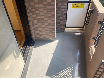 【バルコニー】ステージファースト三宿
