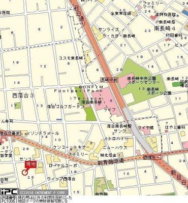 【地図】アヴァンティ哲学堂公園
