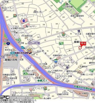 【地図】ライオンズマンション板橋区役所前第5