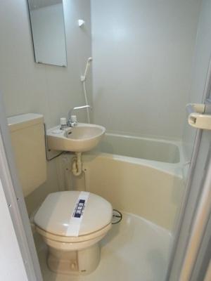 【浴室】ハピネス上中里