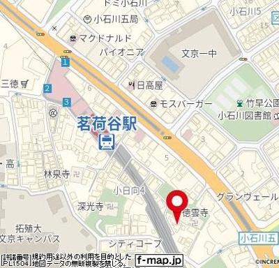 【地図】芙蓉マンション