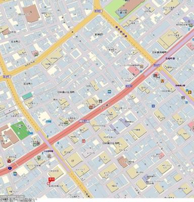 【地図】プレール日本橋三越前