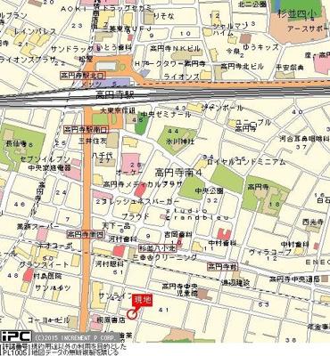 【地図】myplanX