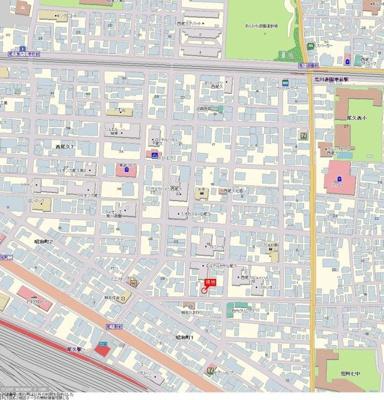 【地図】ダイアパレス尾久駅前第二