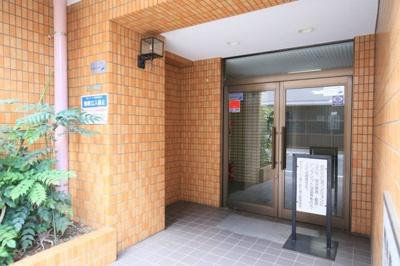 【エントランス】ダイアパレス尾久駅前第二